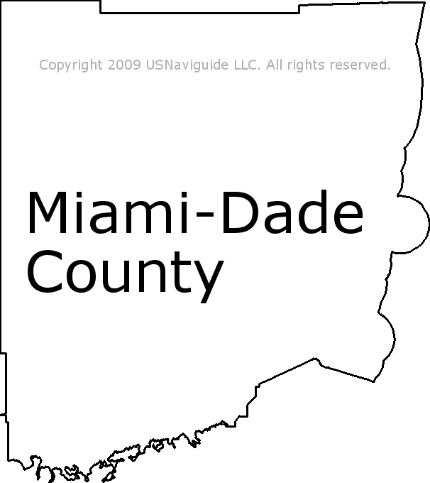 Zip Code Map Dade County.Miami Dade County Florida Zip Code Boundary Map Fl