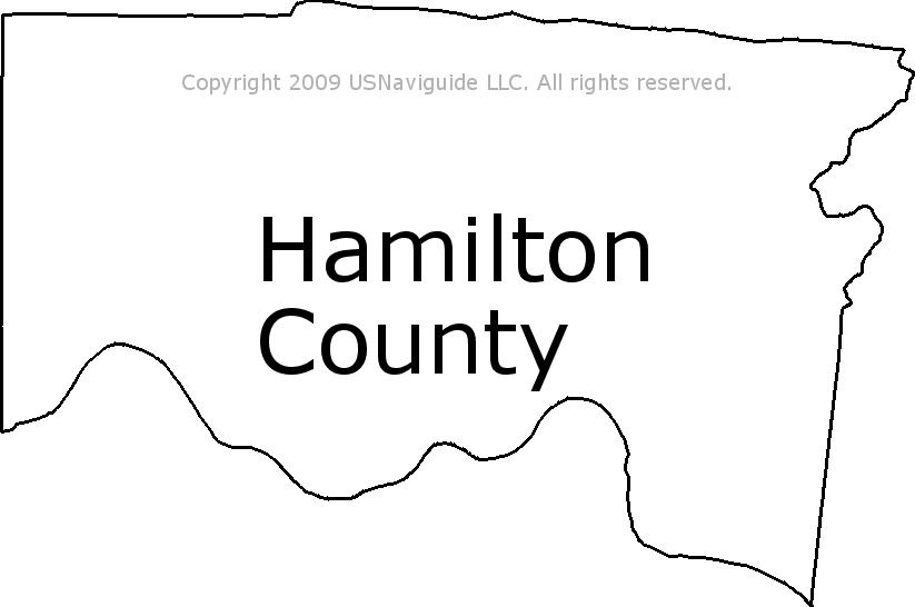Hamilton County Ohio Zip Code Map.Hamilton County Ohio Zip Code Boundary Map Oh