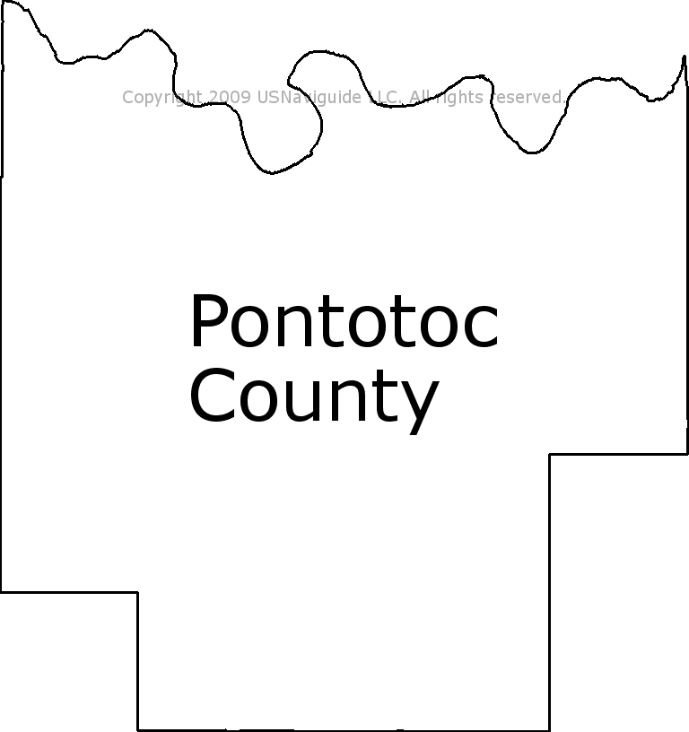 Ada Ok Zip Code Map.Pontotoc County Oklahoma Zip Code Boundary Map Ok