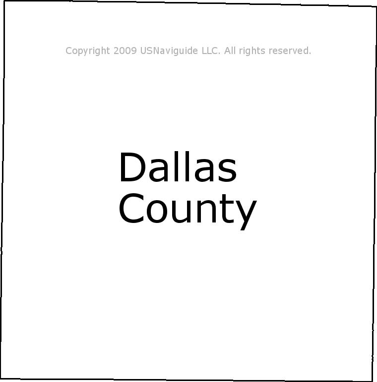 Addison Texas Zip Code Map.Dallas County Texas Zip Code Boundary Map Tx
