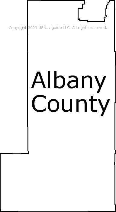 Laramie Zip Code Map.Albany County Wyoming Zip Code Boundary Map Wy