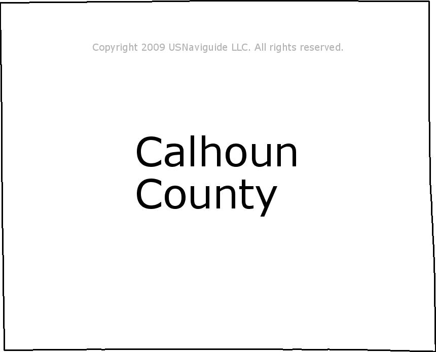 Battle Creek Mi Zip Code Map.Calhoun County Michigan Zip Code Boundary Map Mi