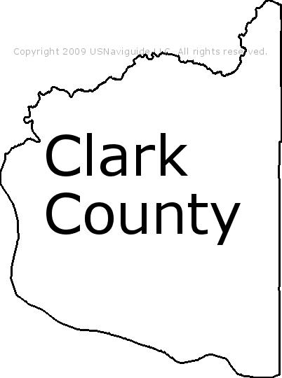 Clark County Washington Zip Code Boundary Map Wa