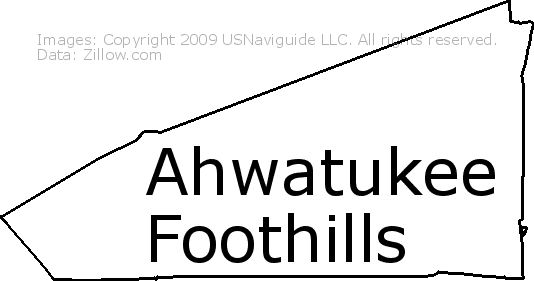 Ahwatukee Zip Code Map.Ahwatukee Foothills Phoenix Arizona Zip Code Boundary Map Az