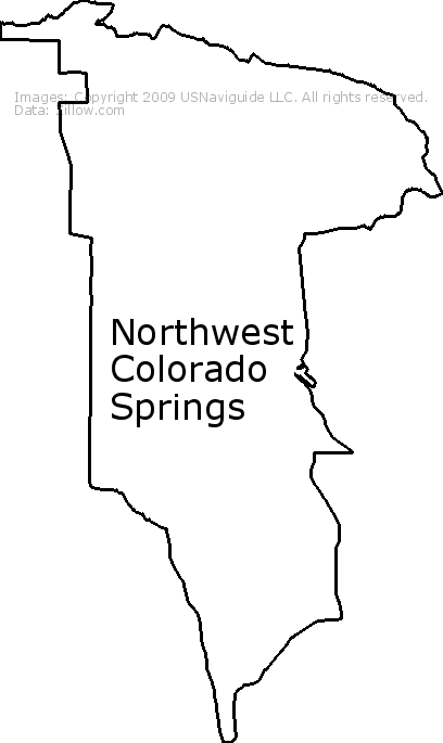 80906 Zip Code Map.Northwest Colorado Springs Colorado Springs Colorado Zip Code