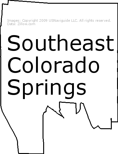 80906 Zip Code Map.Southeast Colorado Springs Colorado Springs Colorado Zip Code