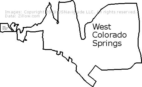 80905 Zip Code Map.West Colorado Springs Colorado Springs Colorado Zip Code Boundary