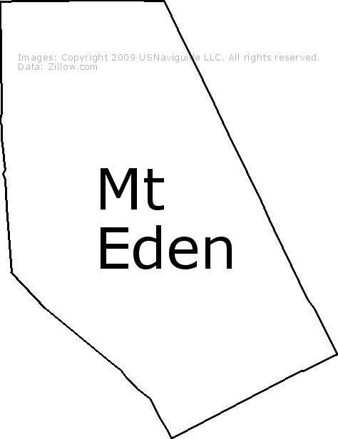 Hayward Ca Zip Code Map.Mt Eden Hayward California Zip Code Boundary Map Ca