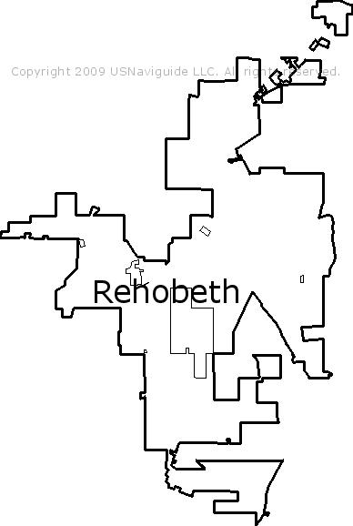Rehobeth Alabama Zip Code Boundary Map Al
