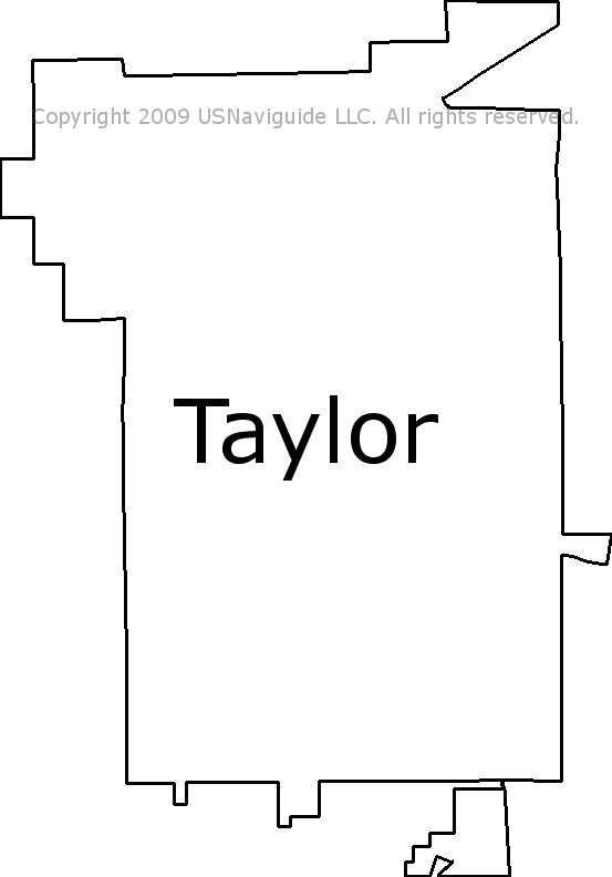 Taylor Alabama Zip Code Boundary Map Al
