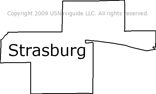 Strasburg Colorado Map.Strasburg Colorado Zip Code Boundary Map Co