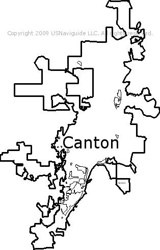 Canton Ga Zip Code Map.Canton Georgia Zip Code Boundary Map Ga