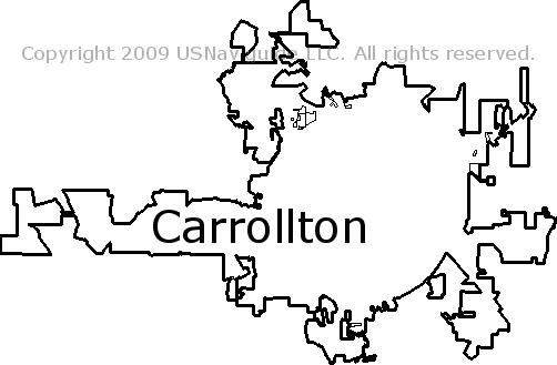 Villa Rica Ga Zip Code Map.Carrollton Georgia Zip Code Boundary Map Ga