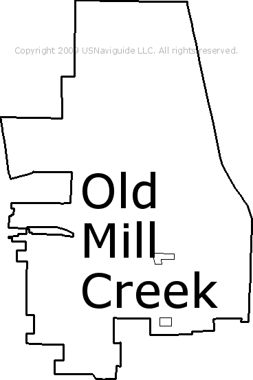 Antioch Il Zip Code Map.Old Mill Creek Illinois Zip Code Boundary Map Il