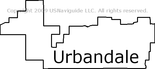urbandale iowa zip code map Urbandale Iowa Zip Code Boundary Map Ia