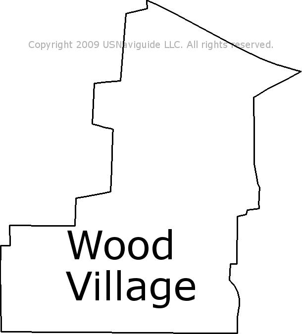 Gresham Oregon Zip Code Map.Wood Village Oregon Zip Code Boundary Map Or