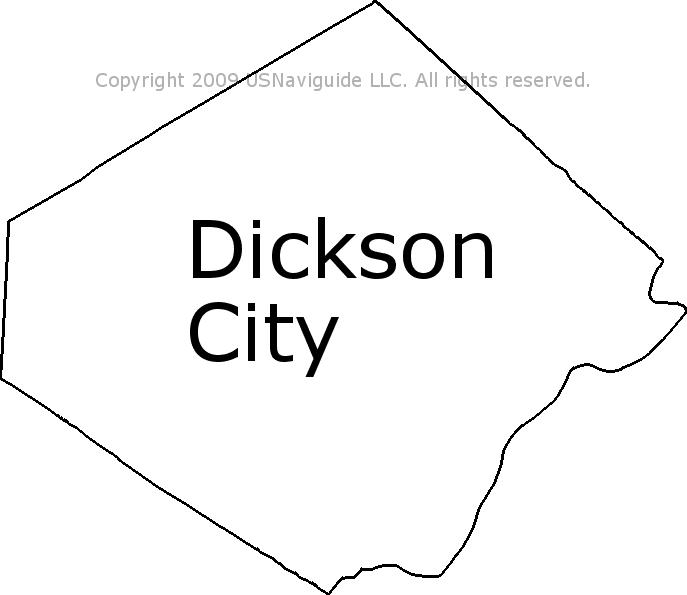 dickson city pa zip code
