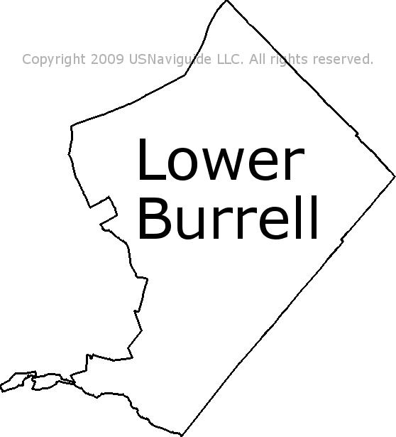 Lower burrell zip code