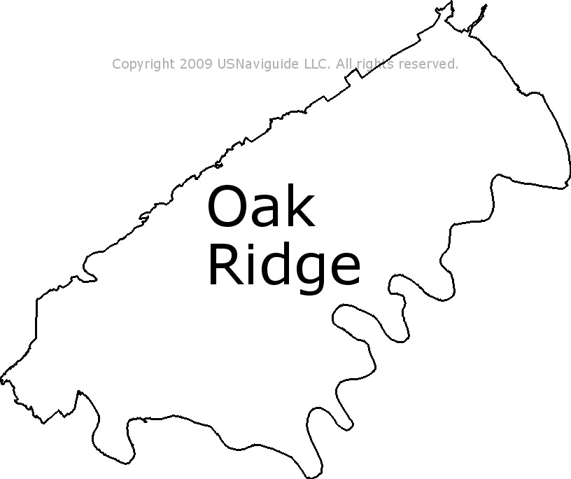 Tennessee Area Code Map