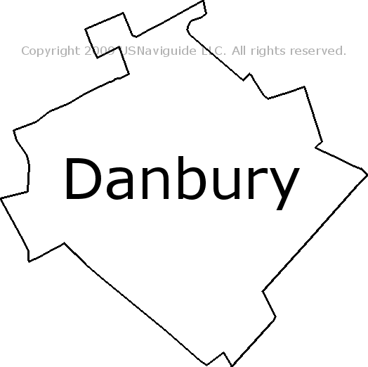 Danbury, Texas Zip Code Boundary Map (TX)