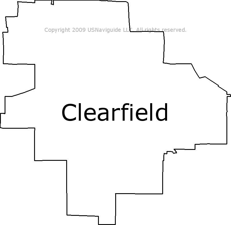 Clearfield Utah Zip Code Map.Clearfield Utah Zip Code Boundary Map Ut