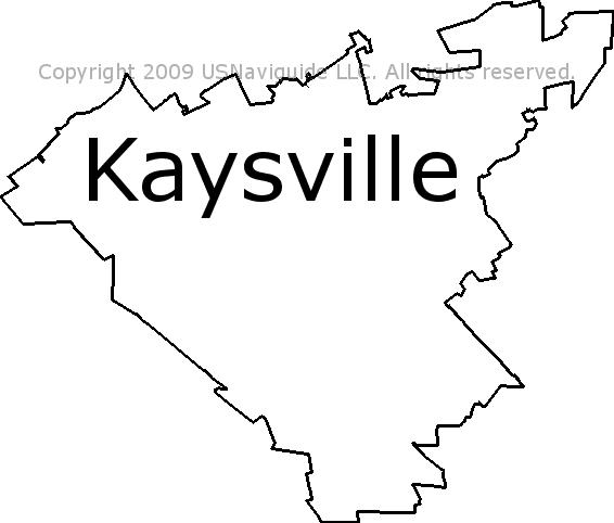 Clearfield Utah Zip Code Map.Kaysville Utah Zip Code Boundary Map Ut