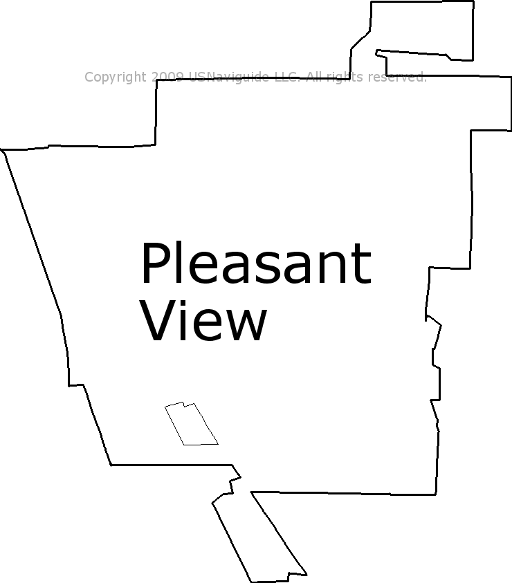 Pleasant View Utah Zip Code Boundary Map Ut