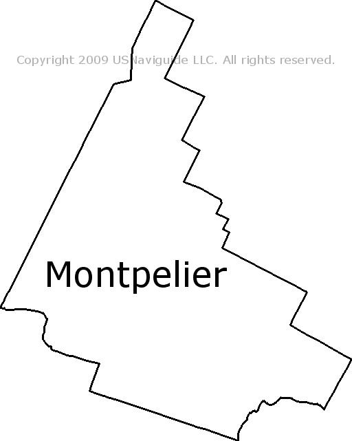 Montpelier Vermont On Map