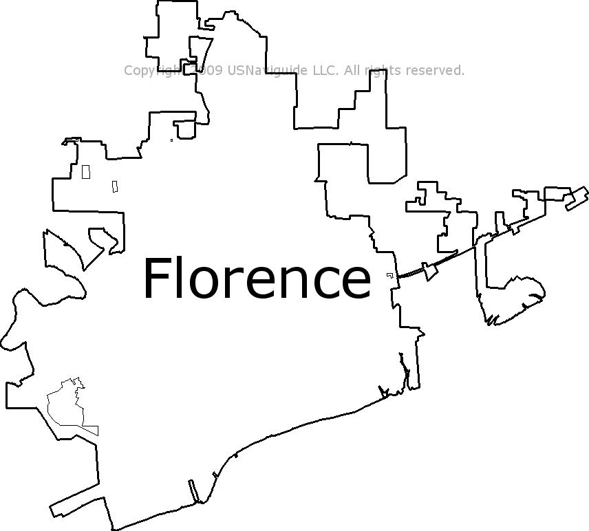 Florence Al Zip Code Map.Florence Alabama Zip Code Boundary Map Al
