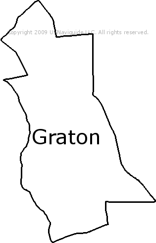 Graton California Map.Graton California Zip Code Boundary Map Ca