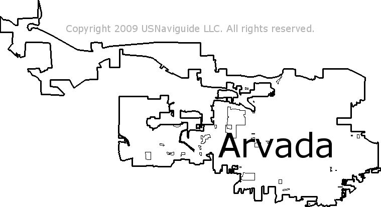 Broomfield Colorado Zip Code Map.Arvada Colorado Zip Code Boundary Map Co