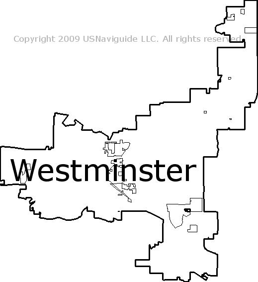Broomfield Colorado Zip Code Map.Westminster Colorado Zip Code Boundary Map Co