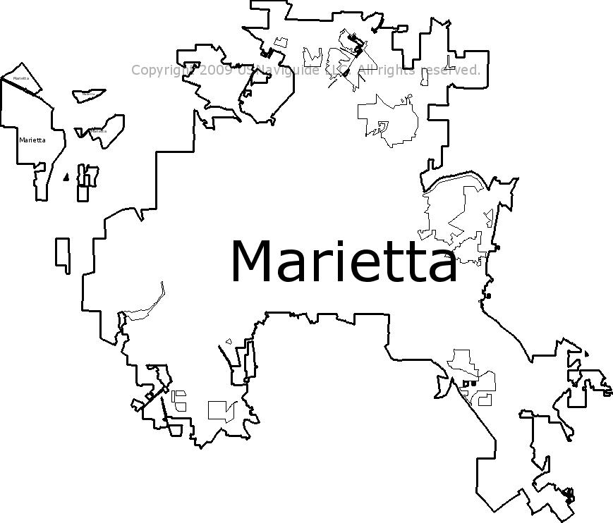 Smyrna Ga Zip Code Map.Marietta Georgia Zip Code Boundary Map Ga
