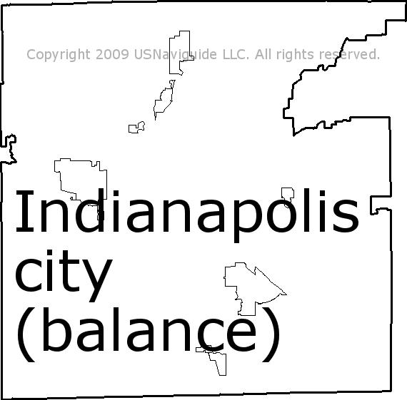 Lafayette Indiana Zip Code Map.Indianapolis City Balance Indiana Zip Code Boundary Map In