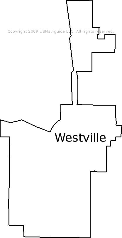 Westville Indiana Map.Westville Indiana Zip Code Boundary Map In