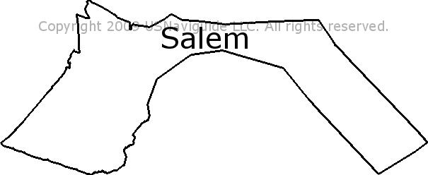 Lynn Ma Zip Code Map.Salem Massachusetts Zip Code Boundary Map Ma