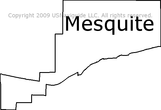 Mesquite Zip Code Map.Mesquite Nevada Zip Code Boundary Map Nv