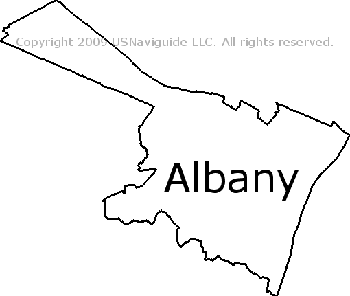 Albany New York Zip Code Map.Albany New York Zip Code Boundary Map Ny