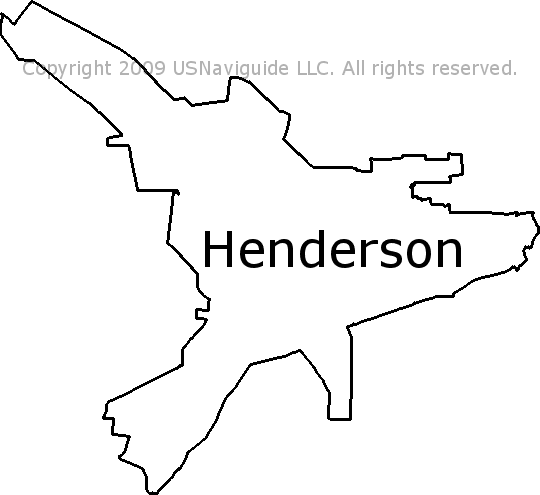 Henderson Tennessee Map.Henderson Tennessee Zip Code Boundary Map Tn