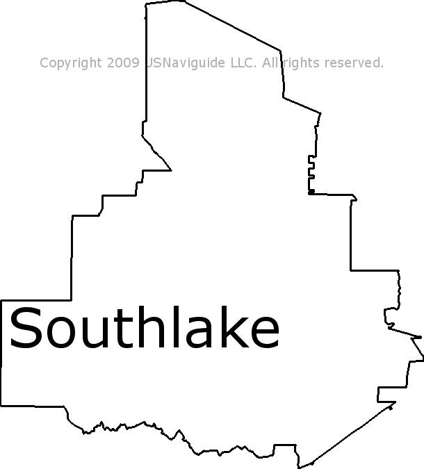 Southlake Tx Zip Code Map.Southlake Texas Zip Code Boundary Map Tx