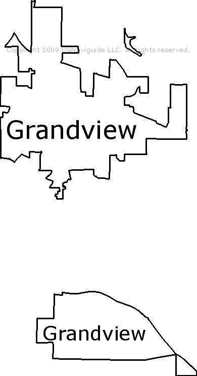 Grandview Wa Zip Code Map.Grandview Washington Zip Code Boundary Map Wa